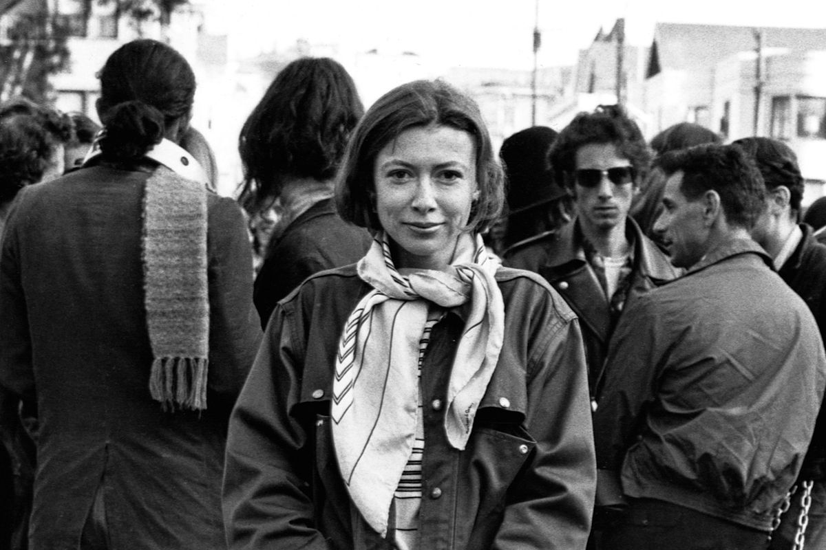 an ode to joan didion and her words working w winter and  an ode to joan didion and her words