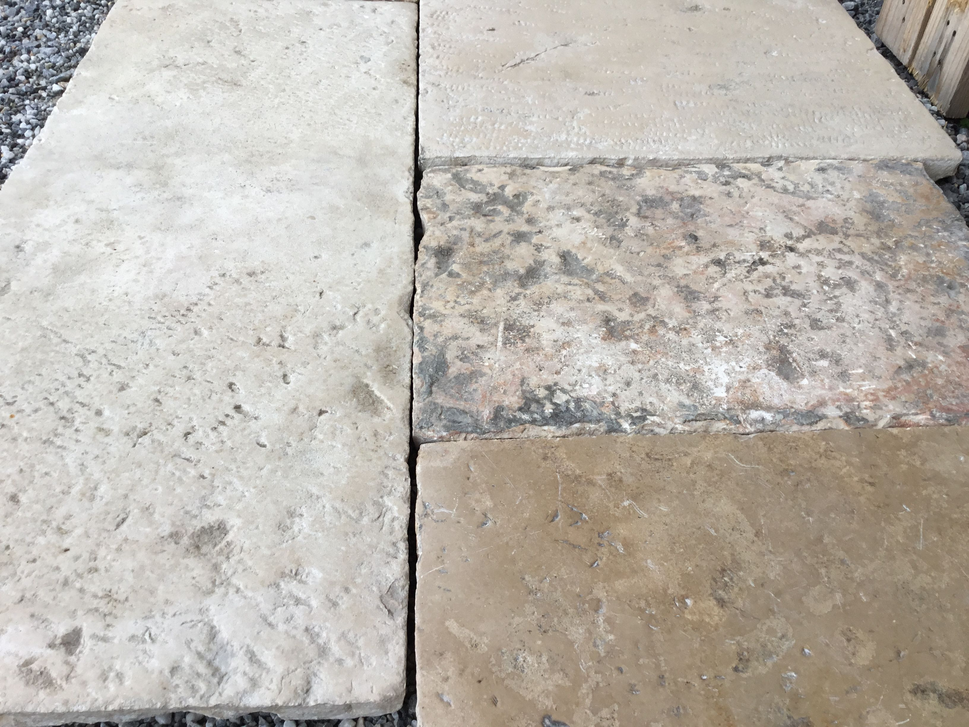 Reclaimed French Stone Floors