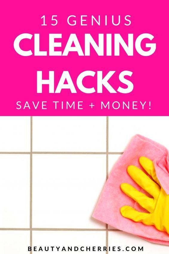 '15 Genius Cleaning Hacks Everyone Should Know...!' (via BC Creatives)