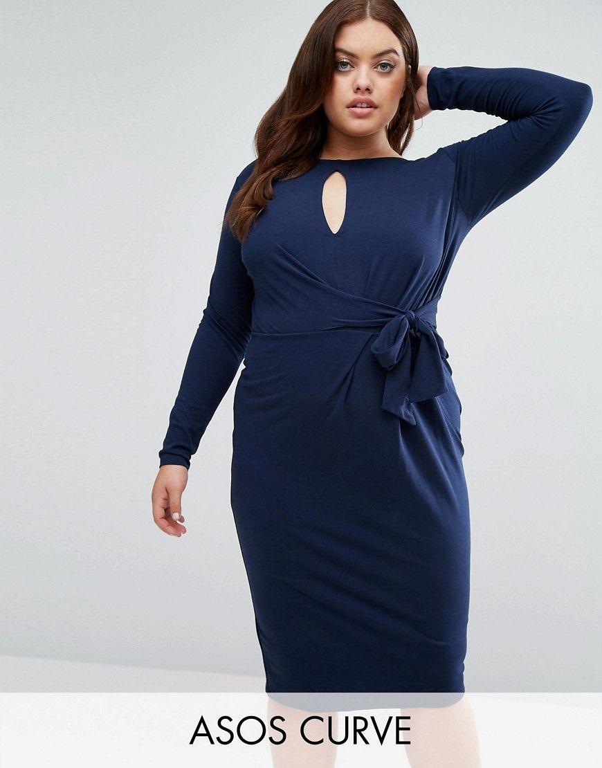 Get this asos curveus long dress now click for more details