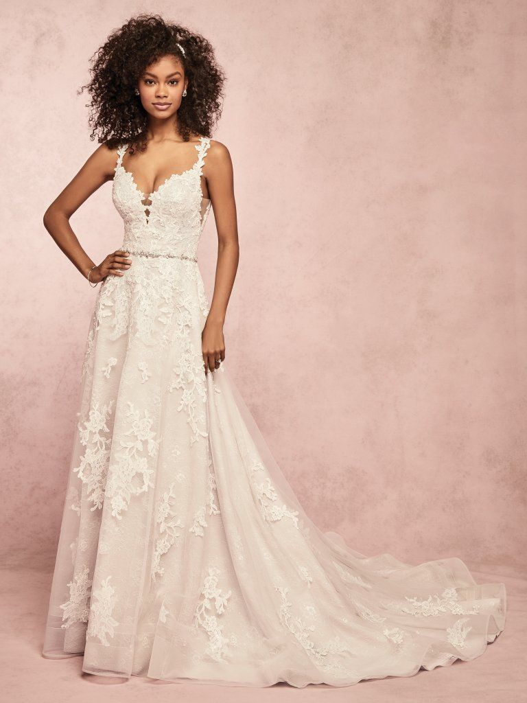 Champagne colored wedding dress  COURTNEY by Rebecca Ingram Wedding Dresses in   WebsterBridal