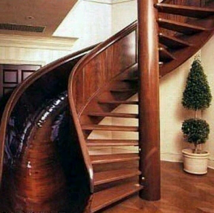 Half Staircase Half Slide My Dream Home Staircase Slide Stair