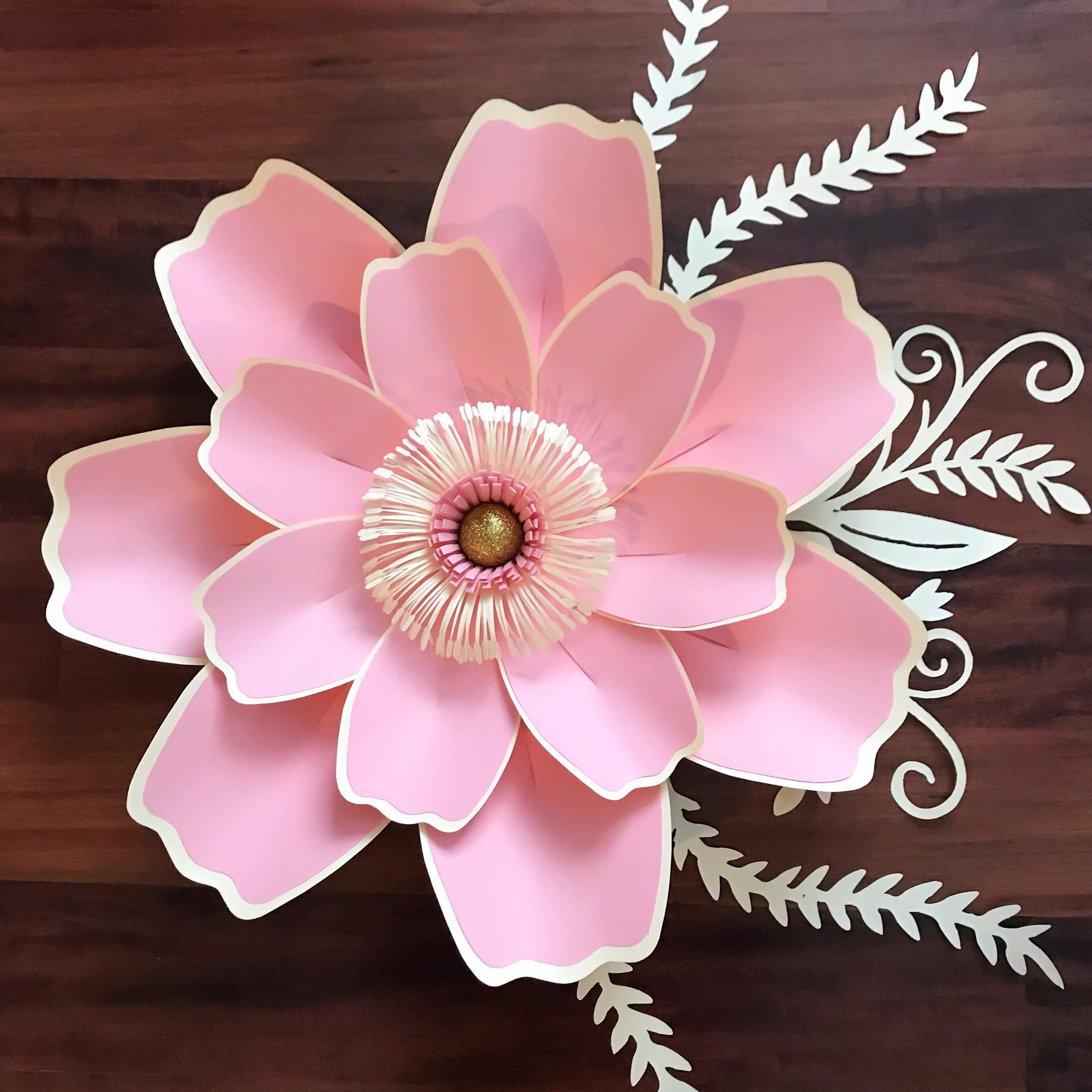 New Paper Flower Templates From The Crafty Sagittarius Available