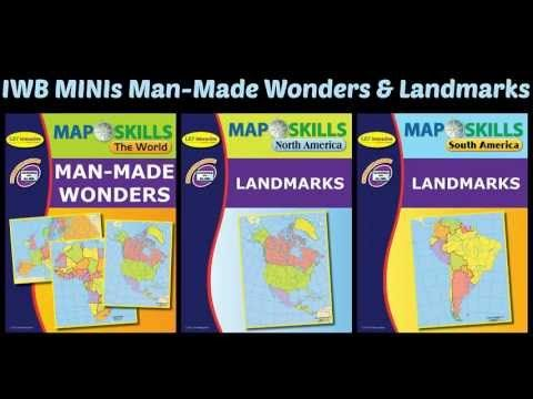Map skills landmarks minis interactive whiteboard lessons explore map skills landmarks minis interactive whiteboard lessons explore the worlds many landmarks through interactive maps and hands on activities gumiabroncs Image collections