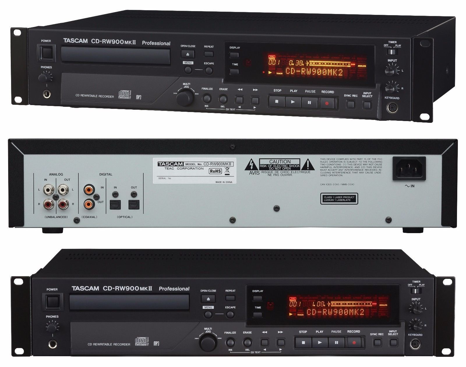 CD Players and Recorders Gpx Mp3 Ready Under Cabinet Clock Cd Radio