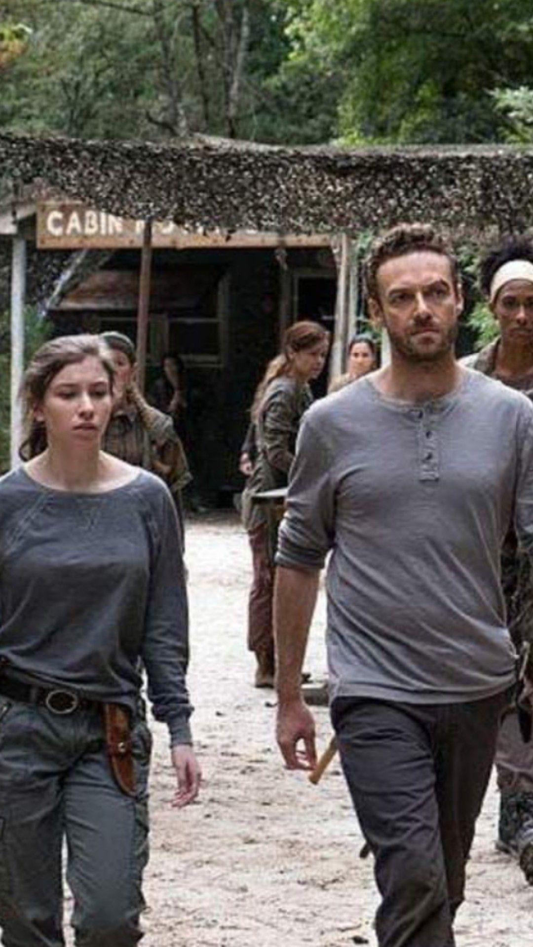 Enid Aaron The Walking Dead The Walking Dead Fear