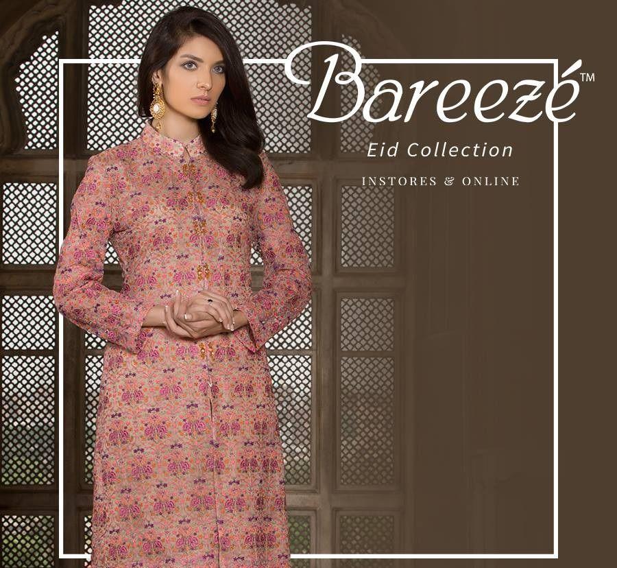d4379dd06e2 Bareeze Fancy Eid Dress 2017 Design