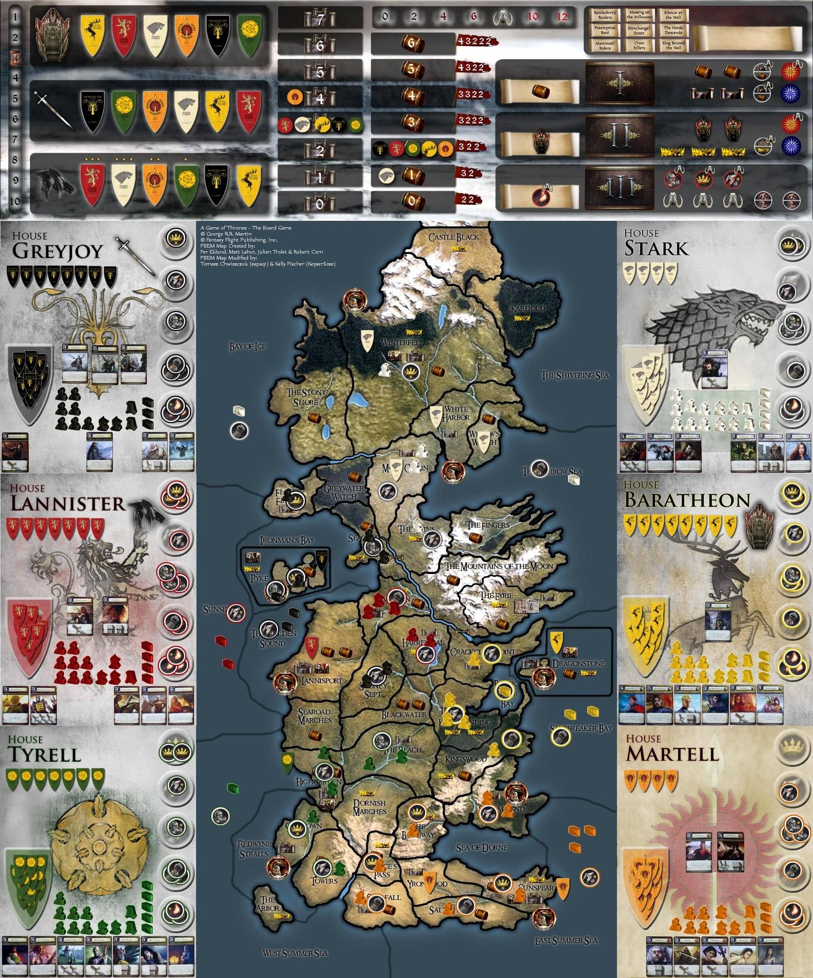 game of thrones board game online
