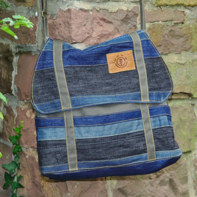 Cooper aus alten Jeans - tolle Upcycling Idee | Colette ...