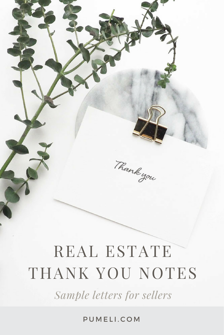 Realtor Thank You Note Samples. Here are three thank you letter examples for different client relationships. Real estate Marketing | #thankyou #clients #closing #realtorlife