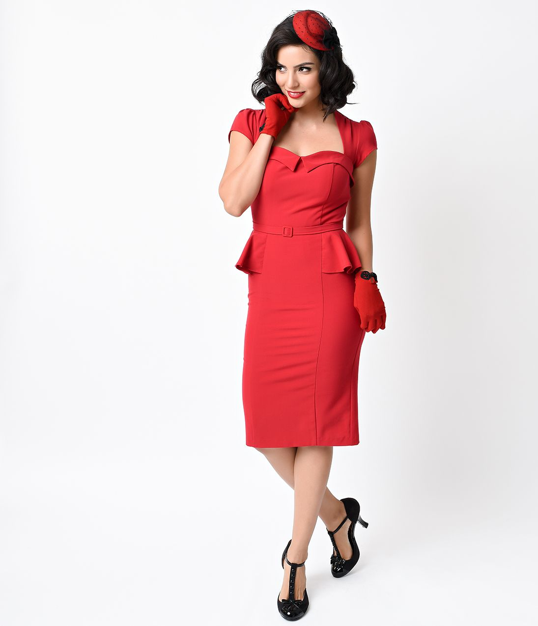 Wiggle Dresses | 1940s Style Clothing | Dresses, 1940s ...