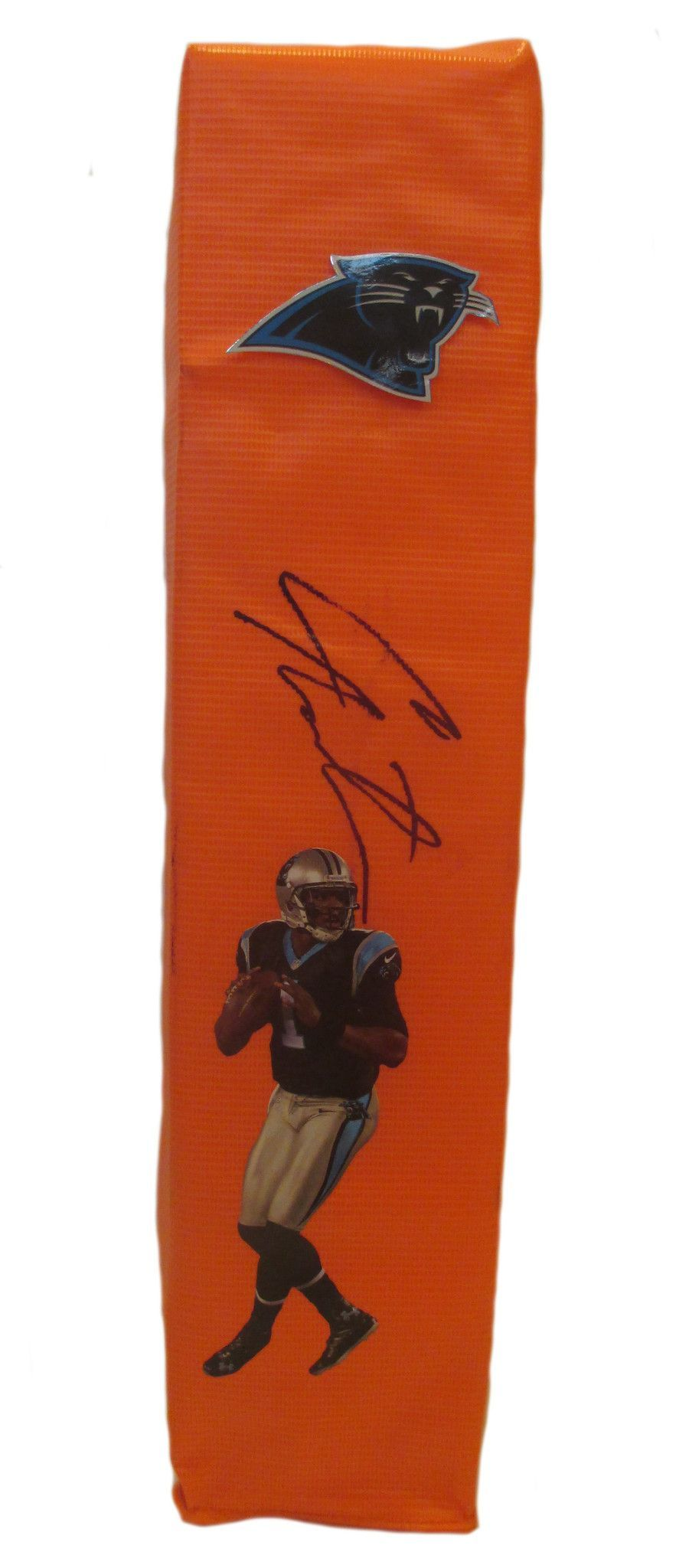 online store 8974a d6851 Cam Newton Autographed Carolina Panthers Full Size Photo ...