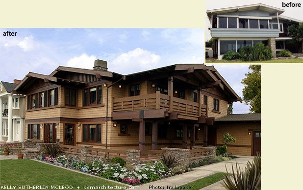 Award Winning Restoration And Addition To 1913 Craftsman Style Residence  Located In Bluff Park Historic District