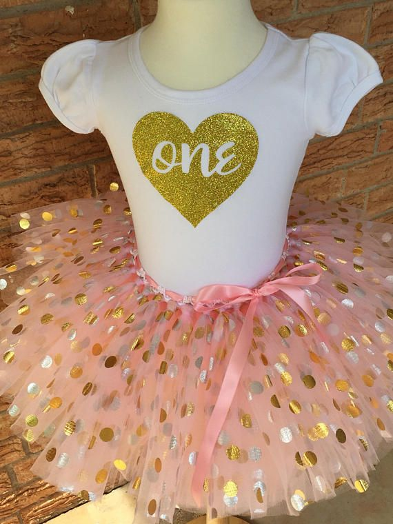 Girls First Birthday Shirt 1st Outfit 1