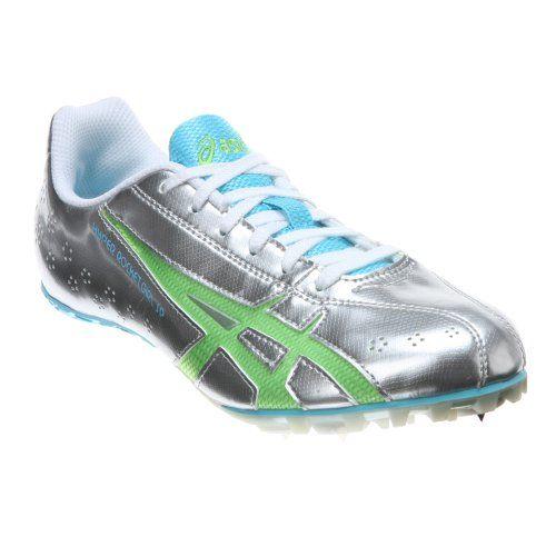 ASICS Women's Hyper-Rocketgirl SP 3 Track & Field Shoe,Lightning/Apple Green