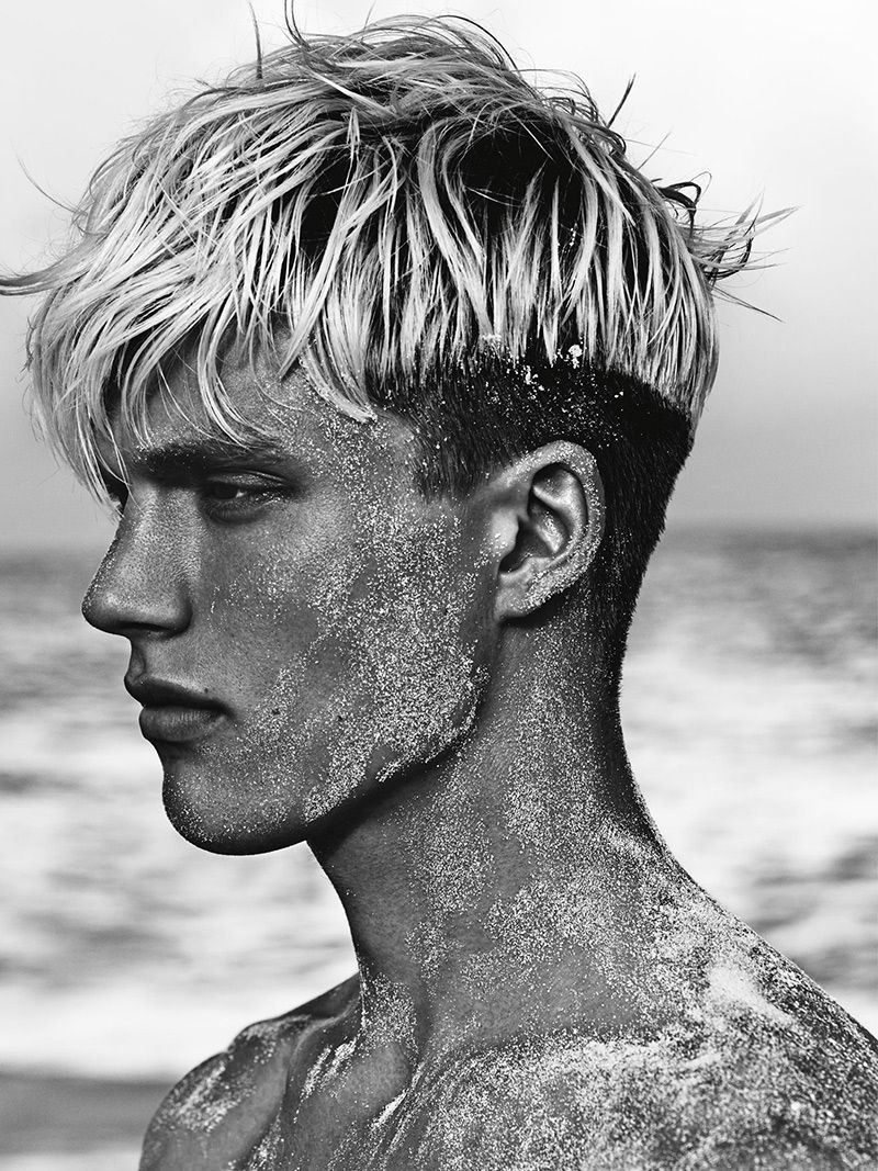 Bowl cut haircut men otto pierce by paola kudacki  hercules universal springsummer