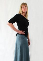 comfy skirt long