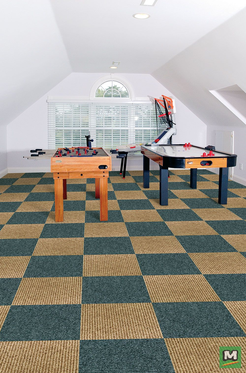 Foss® Ozite™ QuickFloor™ Carpet Tiles are the best choice