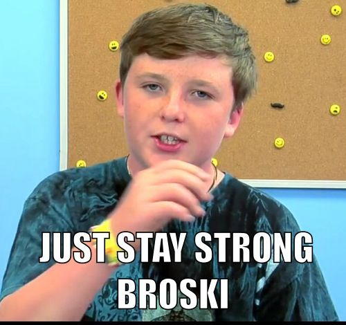 """Words of encouragement from Jake of """"Kids React"""" in response to bullying."""