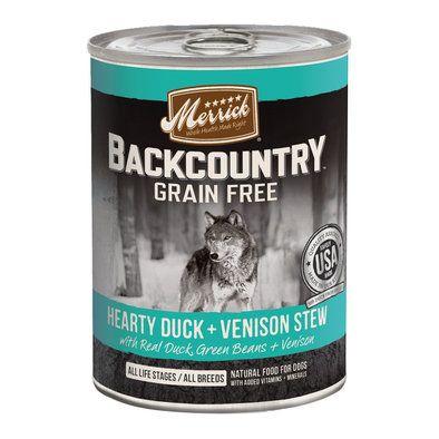 Backcountry Hearty Duck & Venison Stew 12.7 oz Dog