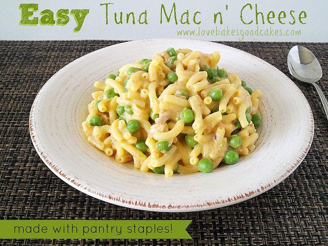 Easy Tuna Mac N Cheese Recipe Tuna Mac And Cheese Recipe Mac N Cheese Recipes