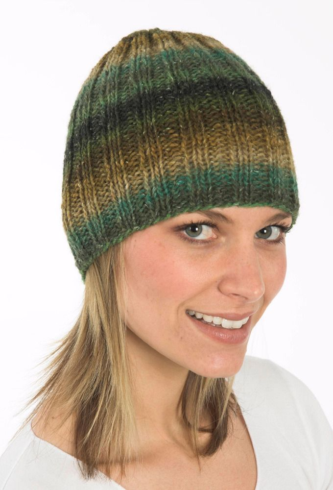Ribbed Hat in in Plymouth Boku - F191 Free  cc023477af5
