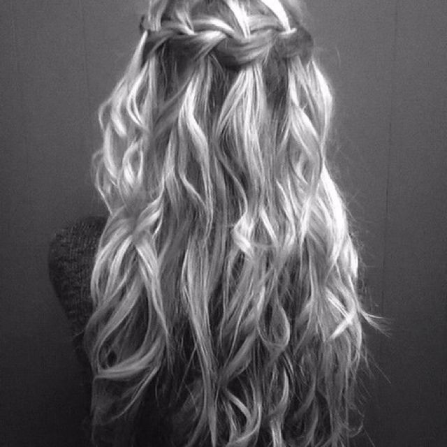 I wish my hair was as pretty as this!