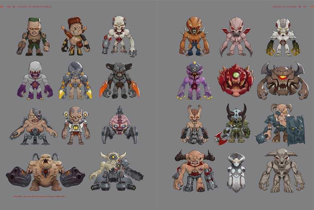 Look Artbook The Art Of Doom Eternal Pdf Free V 2020 G Artbuki
