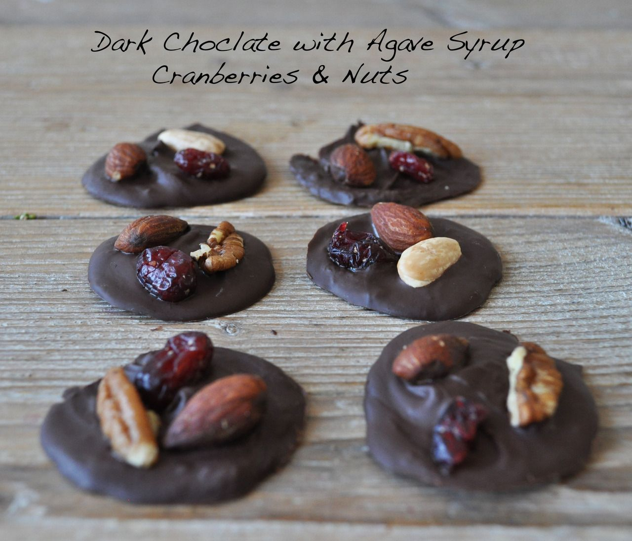 Dark Chocolate with Cranberries & Nuts