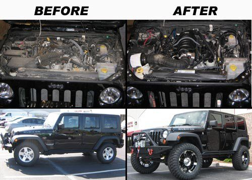 Perfect Awesome 5.7 Hemi Jeep Wrangler Conversion
