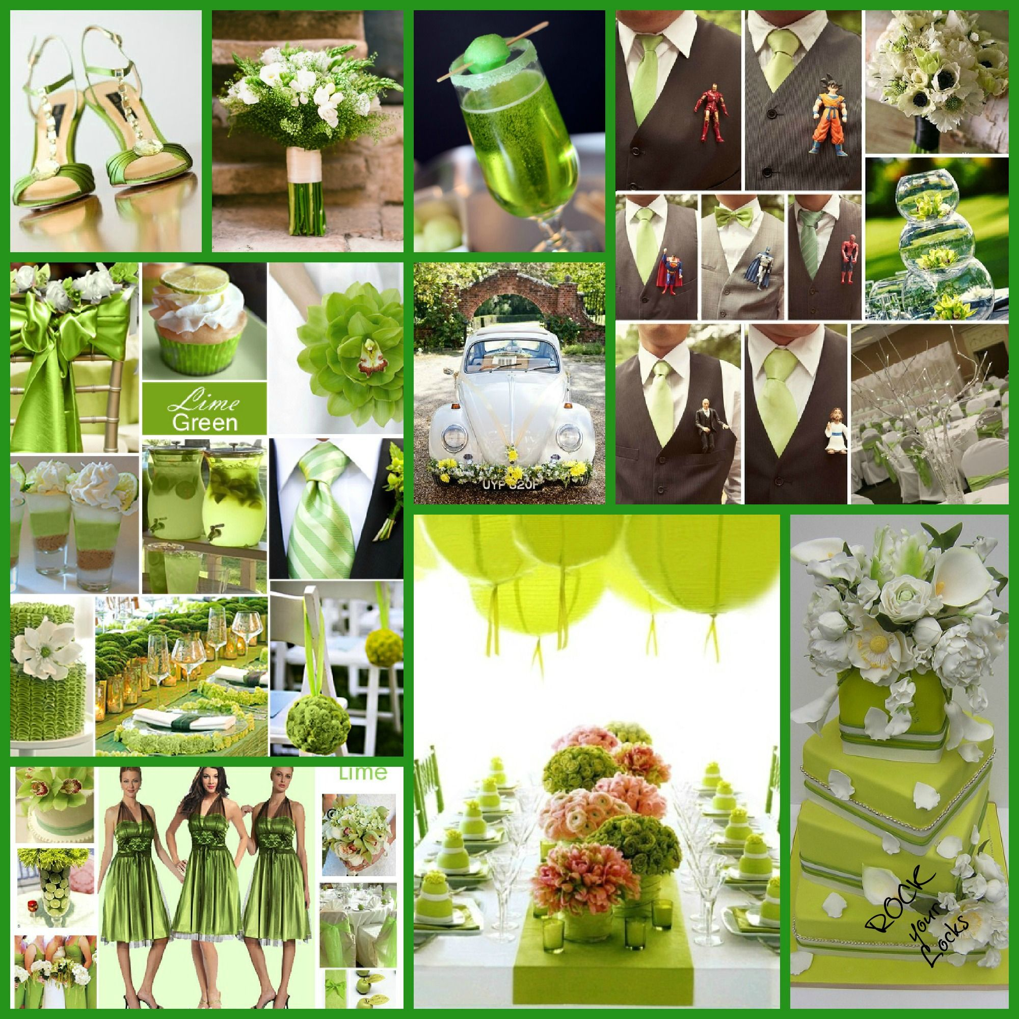 Your Wedding Color Story Part 2 Lime Green Weddings And Limes