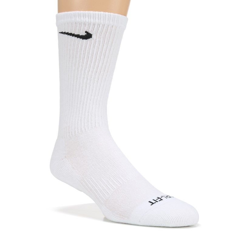 Men S 6 Pack Large Everyday Plus Cushion Crew Socks In 2020 White Nike Socks Kids Long Socks Socks