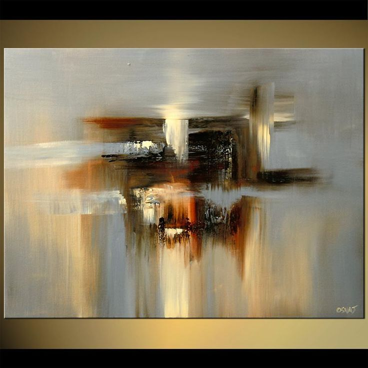Resultado de imagen de modern abstract painting arte mandalas pinterest toile abstraite - Tuto peinture abstraite contemporaine ...