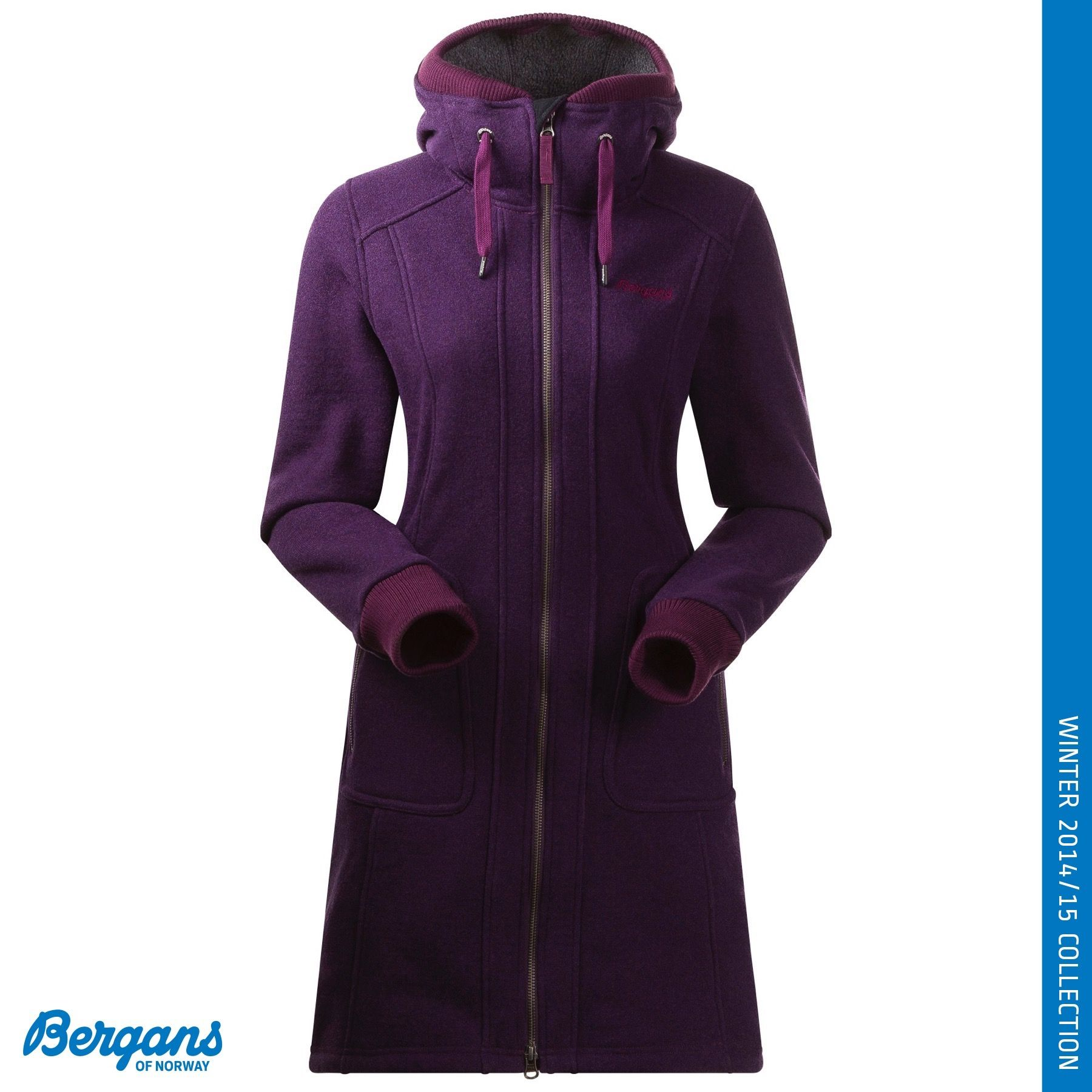 The Myrull Lady Coat by Bergans of Norway is a longer length