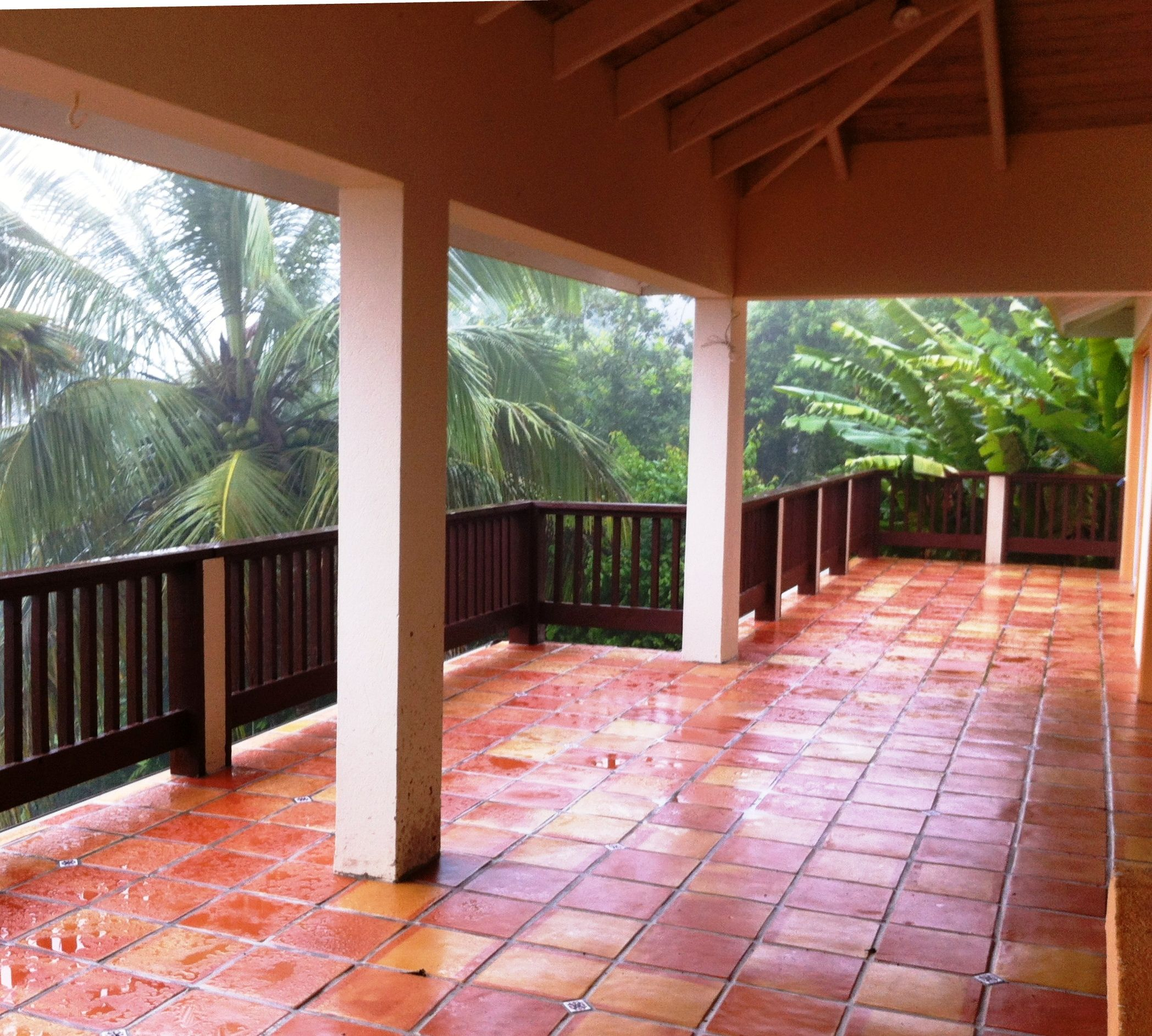 Beautiful Traditional Saltillo Covers This Outdoor Patio