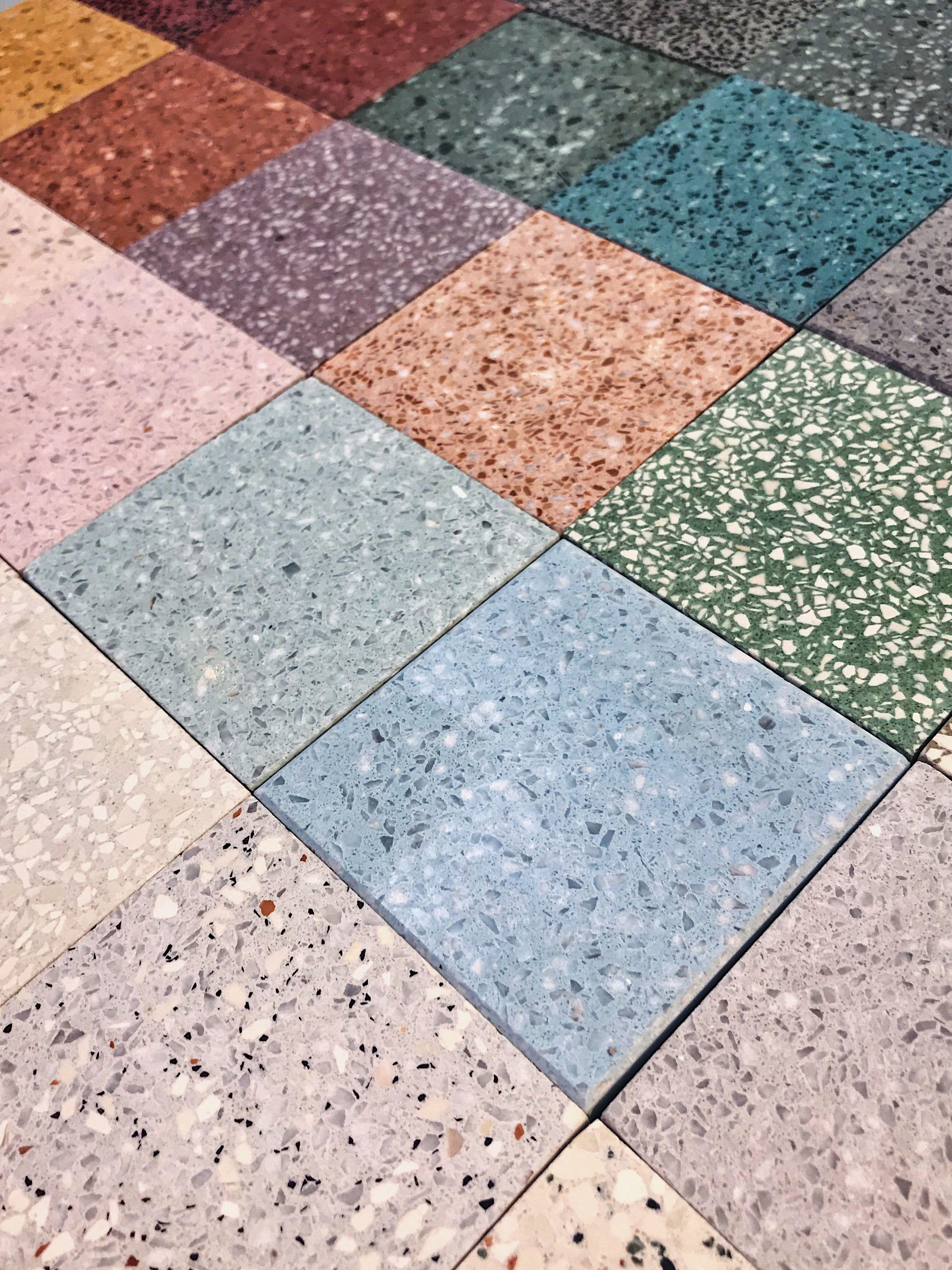 terrazzo mosaic marble tiles   terrazzo  terrazzotiles  terrazzomarble  interiors  architecture