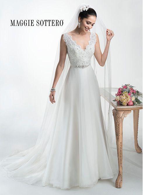 DEBRA by Maggie Sottero Wedding Dresses | Weddings | Pinterest ...