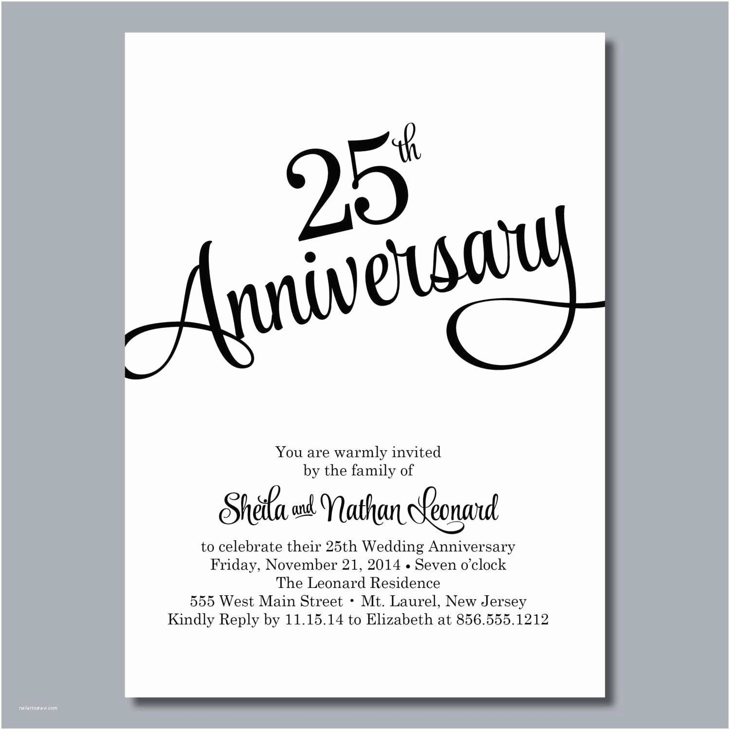 Latest Photographs Parents Anniversary Card Luxury In 25th Wedding Anniversary Invitations 50th Wedding Anniversary Invitations Wedding Anniversary Invitations