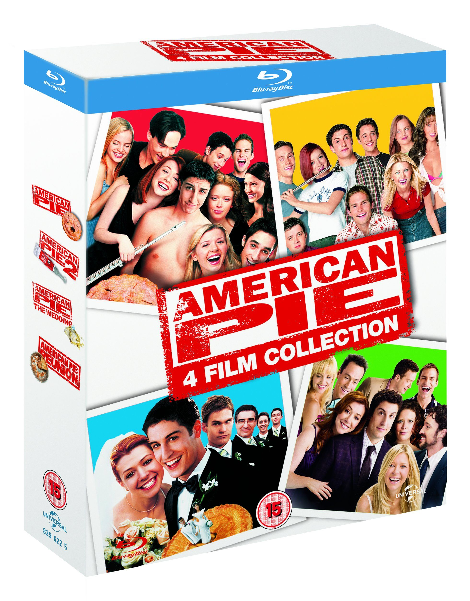 American Pie 1 3 American Pie Movie Collection Blu Ray