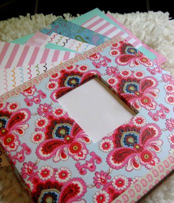 DIY baby book from Young House Love