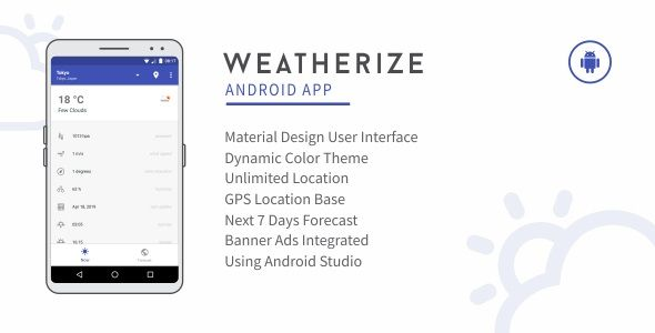 Weatherize Android Premium Weather App 1.0https//www