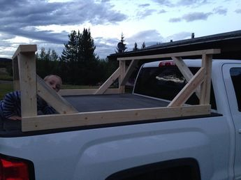 Diy Truck Box Kayak Carrier Birch Tree Farms Kayak