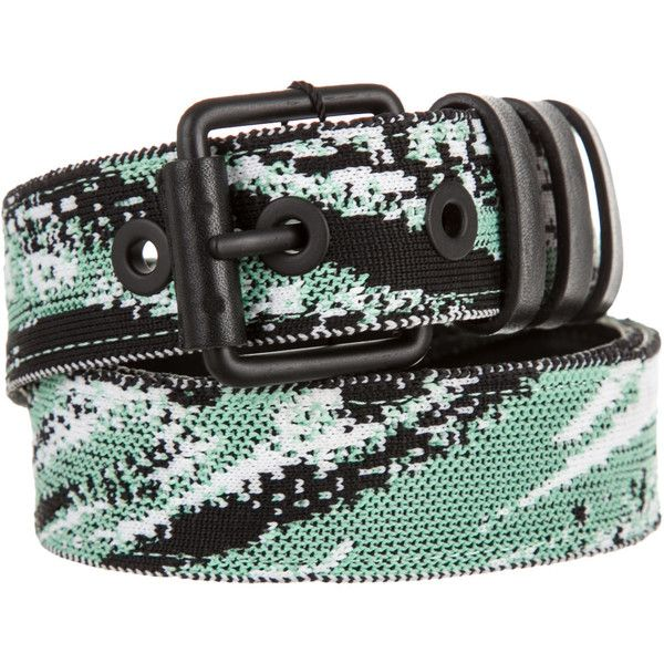 Pre-owned Kenzo Belt (€99) ❤ liked on Polyvore featuring accessories, belts, green, green belt, kenzo, braided belt and woven belt