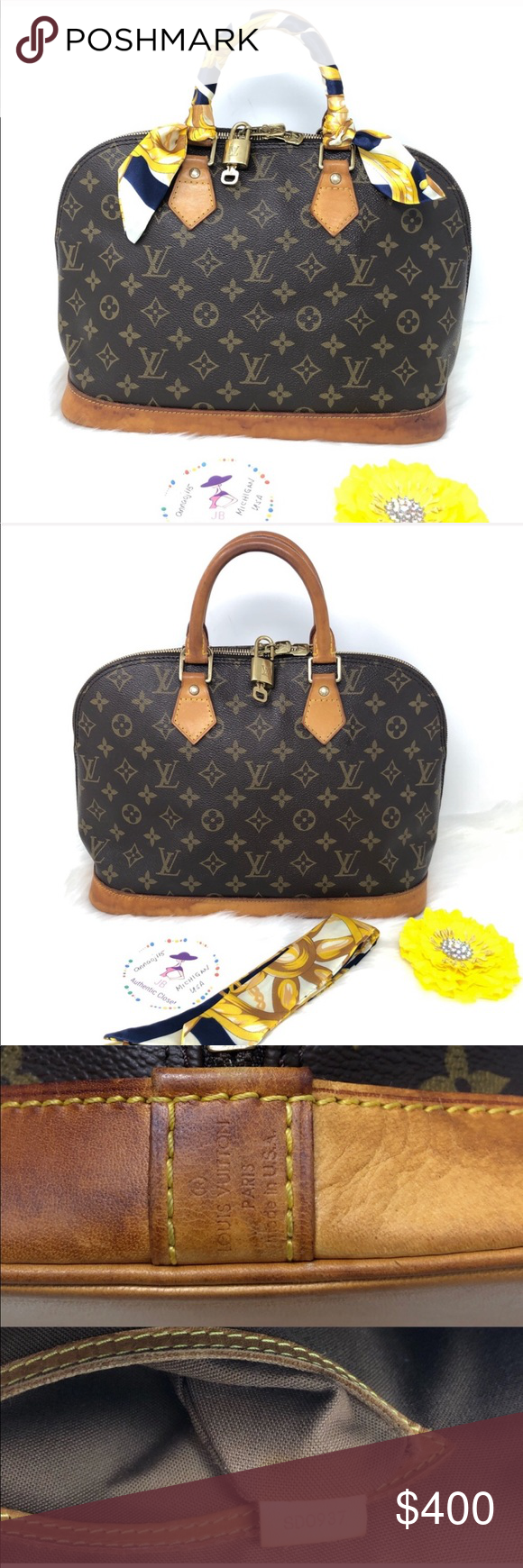 d395ebccc39 Louis Vuitton Alma PM Bag 💥Price is Firm💥 100% Authentic Preowned Used
