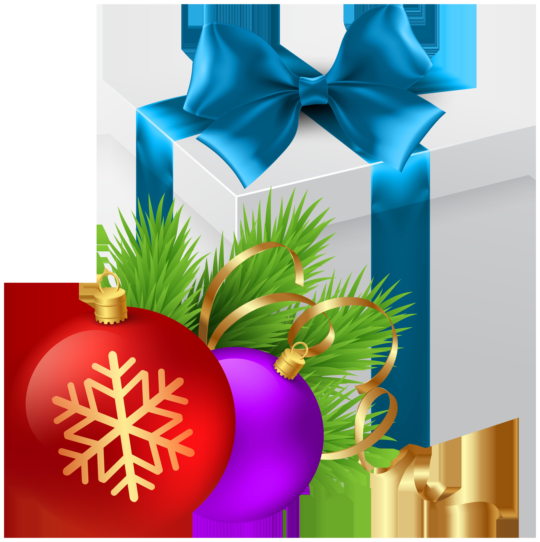 Christmas Gift Transparent PNG Clip Art Image Julepynt