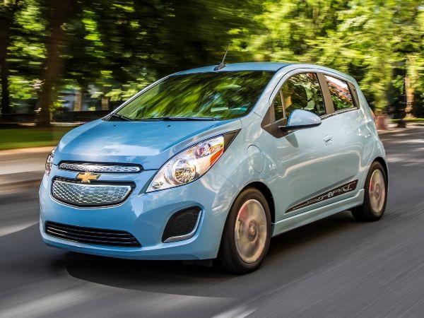 10 Most Fuel Efficient Cars Under 25 000 2016 Chevrolet Spark Ev Chevrolet Spark