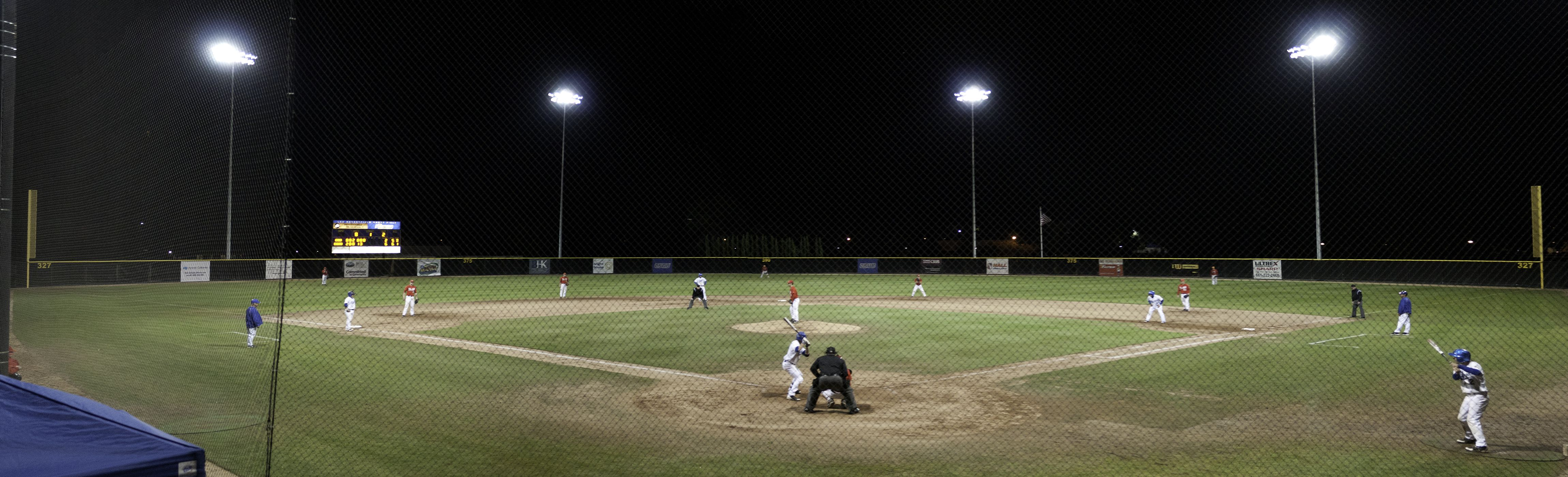 A Panoramic Shot Of Csub Baseball S Hardt Field Home To The Runners Since The Program S Inception In 2009 Thanks To A Generous Natural Grass Panoramic Field