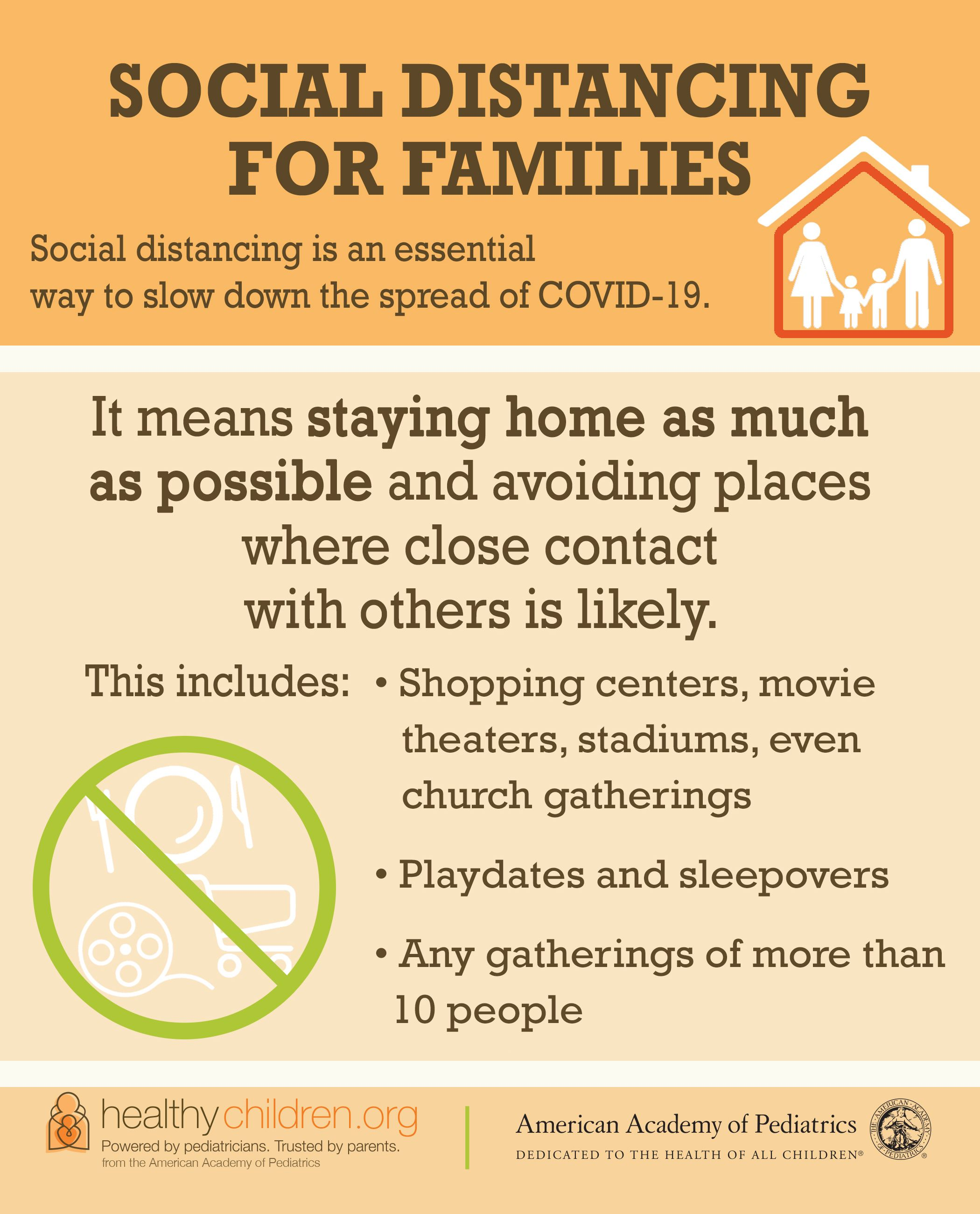 Because COVID19 spreads from person to person, reducing