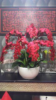 A To Z Deco Kemaman Bunga Orkid Untuk Hiasan Dalaman
