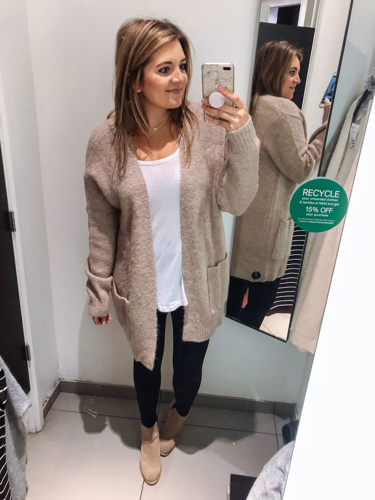 best long cardigan for leggings outfits | See reviews of 15 ...